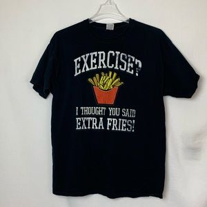 GUC graphic tee French fries
